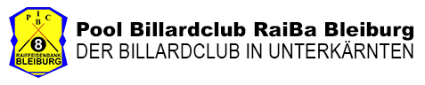 1. Pool Billard Club Raiffeisenbank Bleiburg
